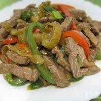 Stir Fried Shredded Beef with Preserved Vegetable (味菜牛柳絲)