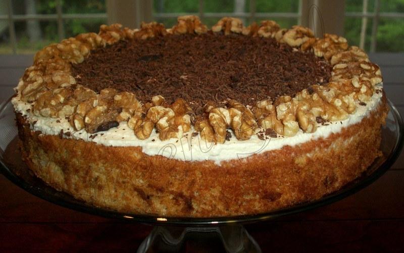 Walnut and Ricotta Cake