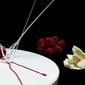 Mousse al Cioccolato Bianco con Palè ai Lamponi