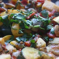 Main dish of Mixed Vegetables (Albanian Name: Turli perimesh)