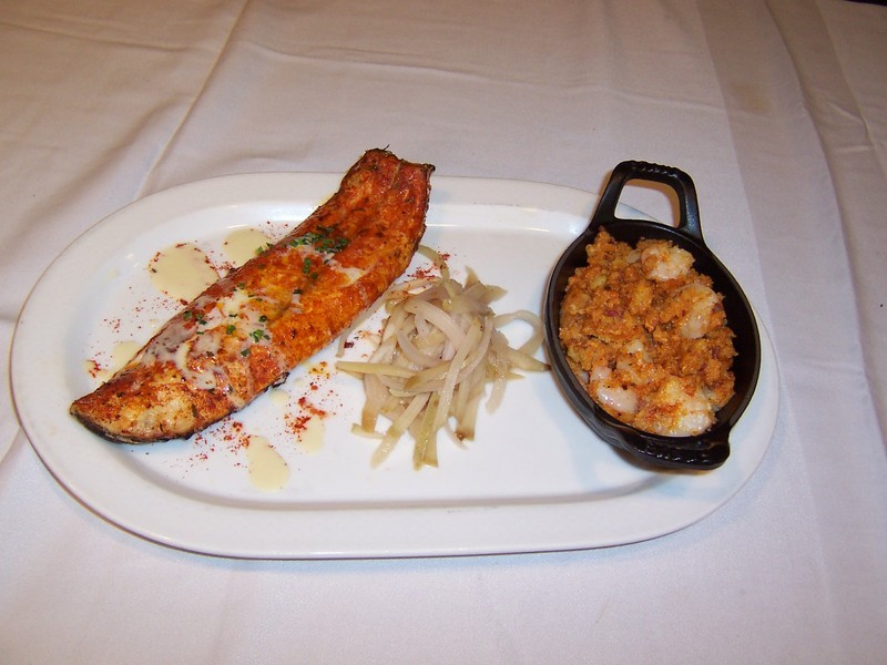 how to cook redfish on the half shell