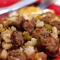 Sausage-Potato Hash and 100th Post Giveaway!