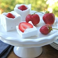 Strawberries in Bubbles of Snow & Foodies of the World recipe book