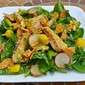 Road Trip Spinach Salad with Grilled Chicken and Chipotle Lime Vinaigrette