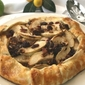 Warm Apple Cranberry Galette with Cinnamon Pecans