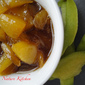 Sweet & sour mango chutney with cinnamon flavour