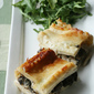 Leftovers Gone Wild - White Lasagna with Turkey and Mushrooms