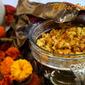 Cheese Vali Gobi (Cauliflower w/ Cheese) and Garlic Naan