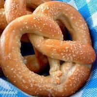 """Soft Pretzels (German """"Bretzen"""") for our Oktoberfest 2010 Party"""