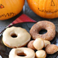 Halloween Refrigerator Donut Recipe with Maple Glaze or Cinnamon Sugar