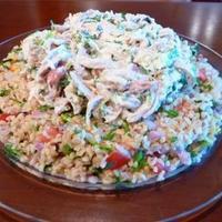 Rotisserie Chicken & Warm Bulgur Salad