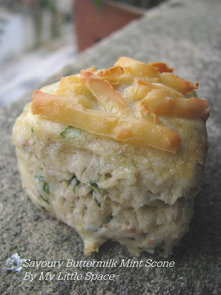 Mini Savoury Buttermilk Mint Scone