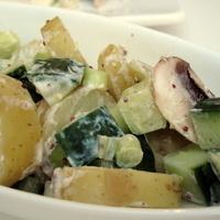Yogurt Mustard Potato Salad