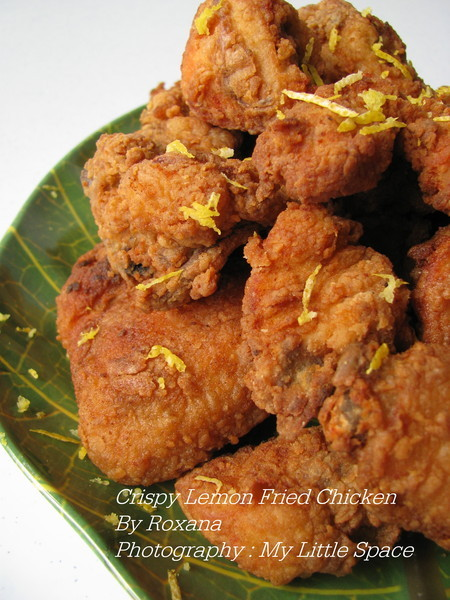 Crispy Lemon Fried Chicken