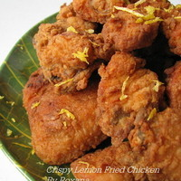 Crispy Lemon Fried Chicken