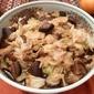 Simmered Cabbage and Shitake Mushrooms (Yasai no Fukumeni)