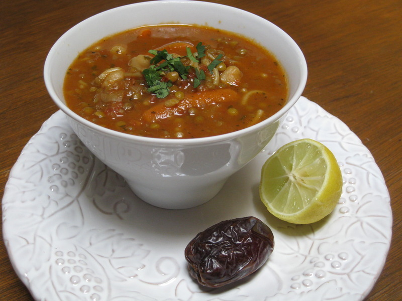 Harira: A Delicately-Spiced Moroccan Soup
