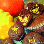 Chocolate Banana Rum Ricotta Squash Muffins or Cupcakes