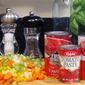Gigi's Creamy Tomato Soup and HBin5 Garlic Baguette