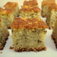 Butter Free Orange and Rosemary Cake