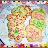 Sparkling Sugar Cutout Cookies
