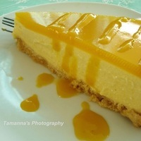 Mango no-bake Cheesecake