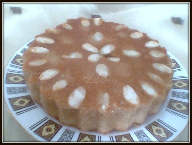 Almond And Lemon Syrup Cake