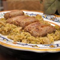 Verza e salsiccia (Cabbage and Sausage)