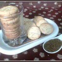 Saltish Zeera Cookies