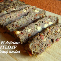 Meatloaf with Feta and Sundried Tomatoes