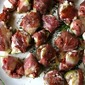 Roasted Figs with Prosciutto & Blue Cheese