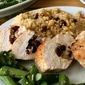 Turkey Tenderloin Stuffed with Cranberries and Pine Nuts