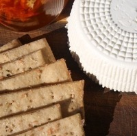 Mizithra, Crackers, & Habañero Honey