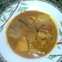 Malaysian-Indian style Chicken Curry