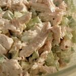 Leftover Orange Turkey Salad