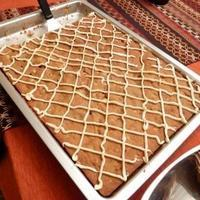 Pumpkin White Chocolate Macadamia Bars