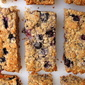 Butter Free Blueberry Jam Flapjacks
