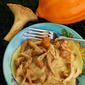 Autumn Bounty: Fresh Chanterelles with Acorn Squash Ravioli