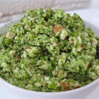 """Raw Green Pea and Almond Dip - """" Kurma"""""""