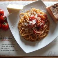 Bucatini or Spaghetti alla Amatriciana