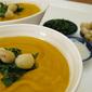 Creamy Vegan Roasted Sweet Potato Soup