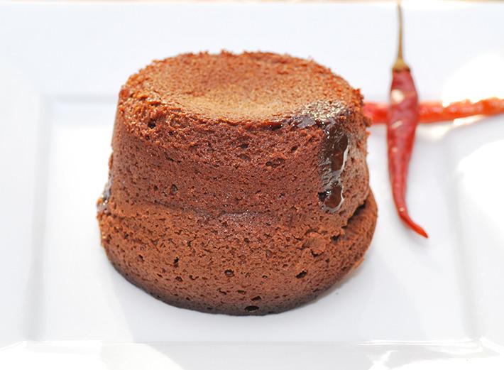 Chocolate Chile Lava Cakes