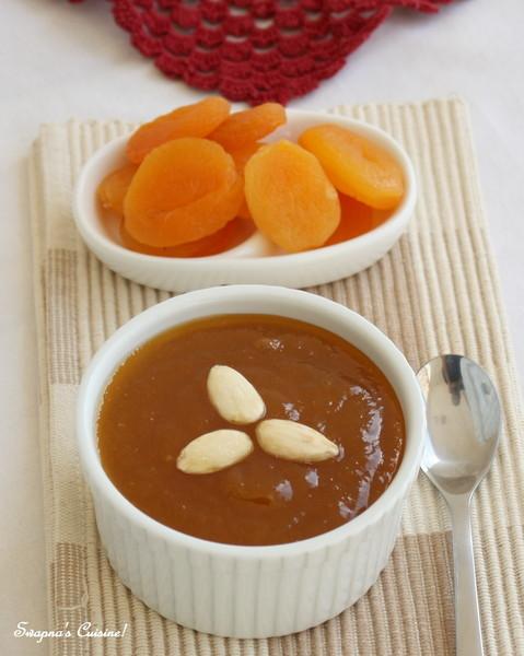 Qubani Ka Meetha / Sweetened Apricot