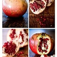 Pomegranates and Za'atar…..