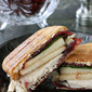 Turkey, Brie, Pear & Cherry Chipotle Panini Recipe, Plus A Story of Gratitude