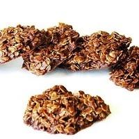 Gluten Free Oatmeal Chocolate No-Bake Cookies