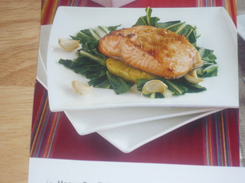 Honey Soy Baked Salmon with Pinapple