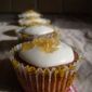 Gingerbread Cupcakes with Lemon Icing