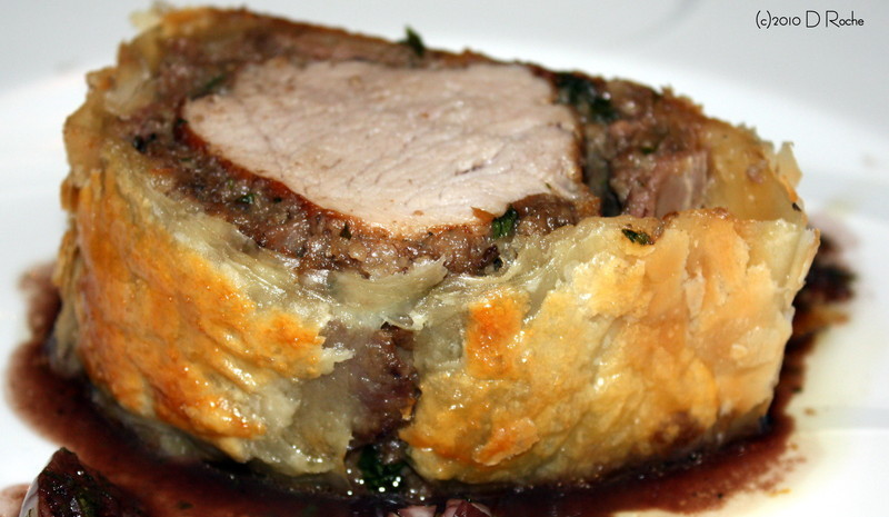 Pork Tenderloin Wellington Recipe by NickCookEatShare