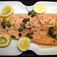 Poached Steelhead Trout made easy